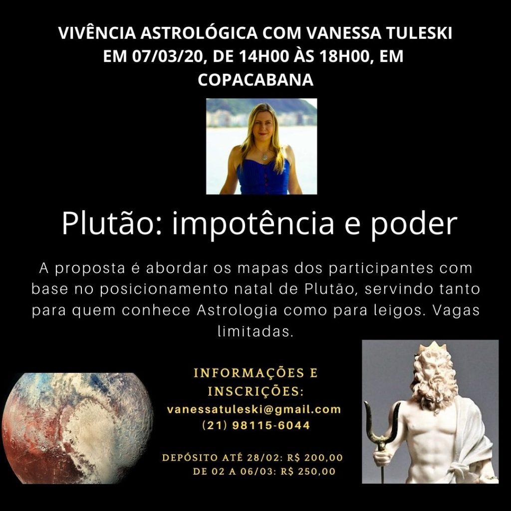 Vivência de Plutão em 07-03-20